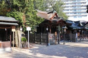 長野神社境内