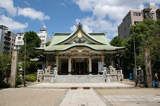 難波八阪神社・本殿