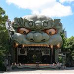 難波八阪神社・獅子殿
