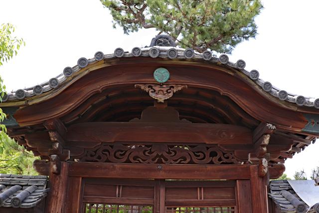 南宗寺唐門・葵の紋