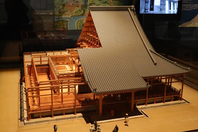 大阪歴史博物館9階・本願寺御影堂模型