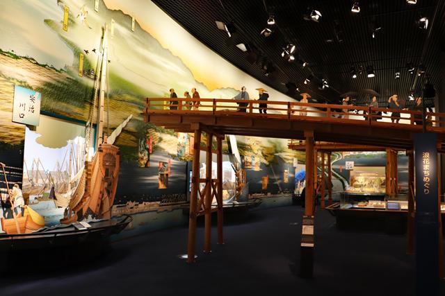 大阪歴史博物館9階展示