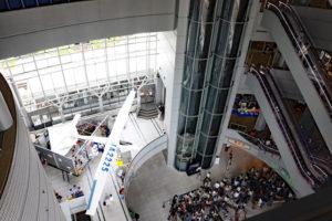 大阪市立科学館・館内風景