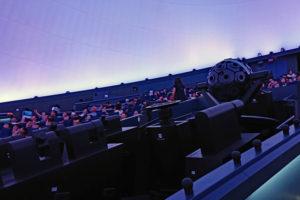 大阪市立科学館・プラネタリウムホール