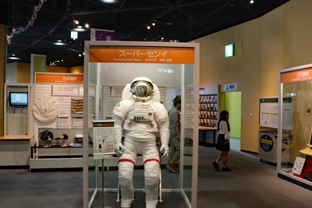 大阪市立科学館・3階展示室