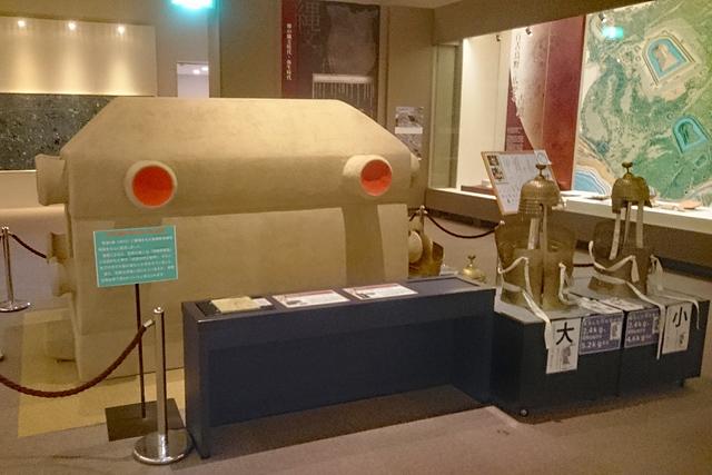 堺市博物館常設展・長持形石棺