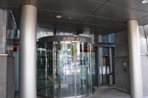 堺市役所高層館入口