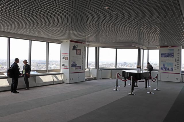 堺市役所展望ロビー風景