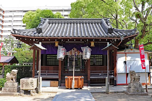 菅原神社・拝殿