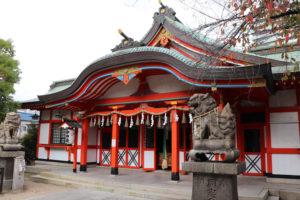 玉造稲荷神社・社殿