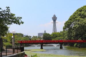 天王寺公園から通天閣