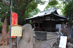 安居神社・境内風景