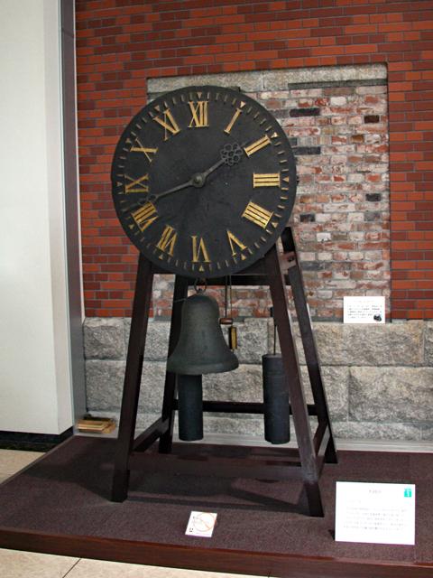 造幣博物館1階・大時計