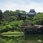 玄宮園|彦根藩の大名庭園、池の向こうには国宝天守(滋賀名所巡り)