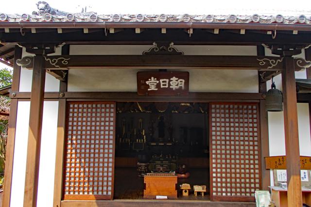 義仲寺本堂(朝日堂)