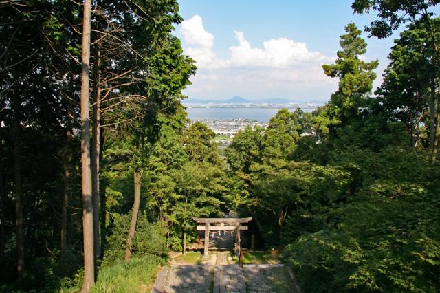 日吉東照宮からの眺め