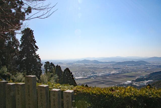 観音正寺境内からの眺望