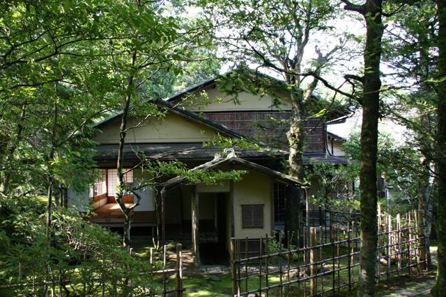 旧竹林院庭園・茶室