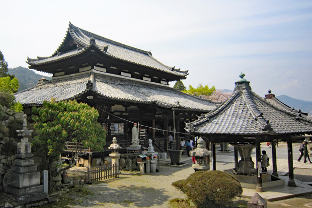 三井寺観音堂(西国十四番)