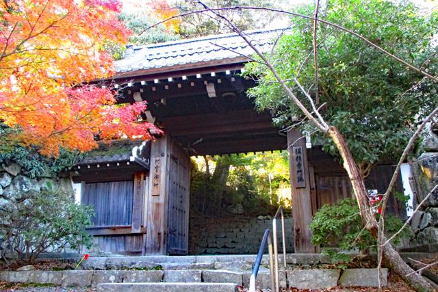 八幡山・瑞龍寺(村雨御所)