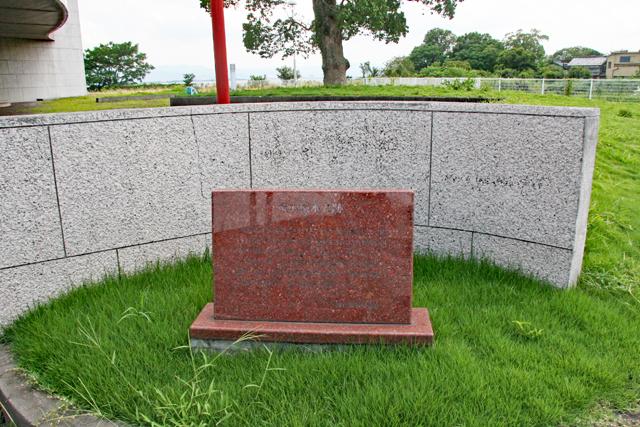 坂本城本丸跡