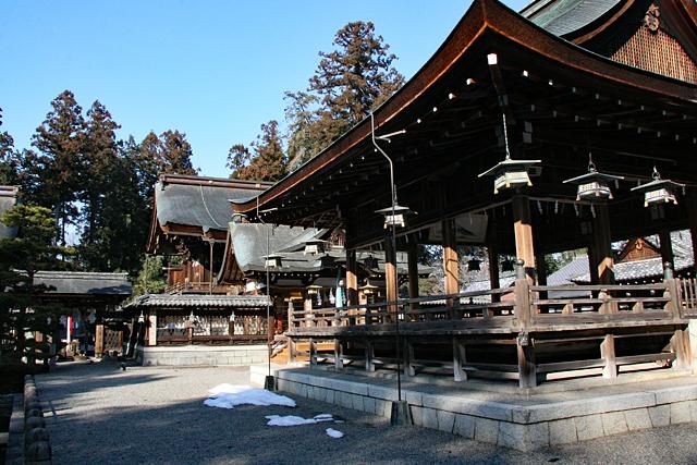 沙沙貴神社・境内風景