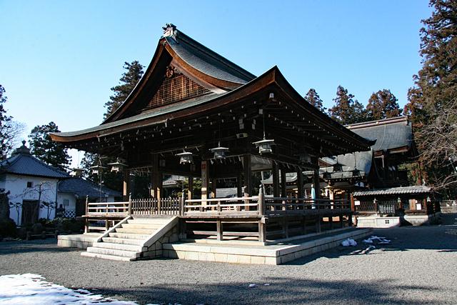 沙沙貴神社拝殿