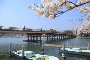 瀬田の唐橋風景