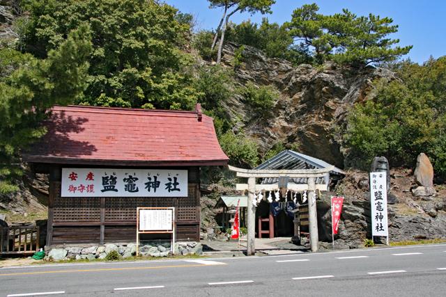 鏡山と鹽竃神社